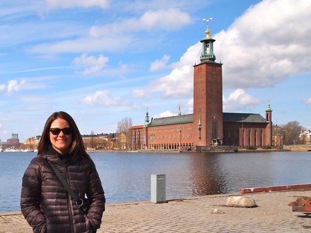 Click to see this image of Stockholm's City Hall!