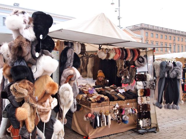 Click to see this image of Market Square in Helsinki!