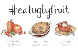 Eat More Ugly Fruit (+Veggies)