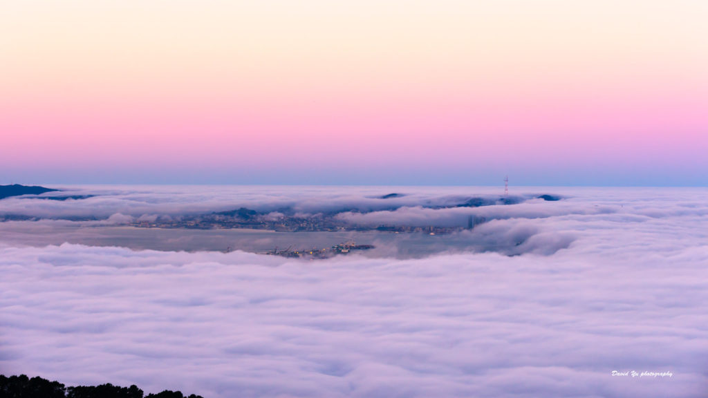 Sunrise Colors - Fog City San Francisco by David Yu via Flickr. | Far & Wise
