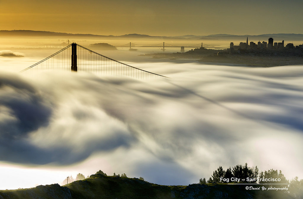 Fog City by David Yu via Flickr | Far & Wise