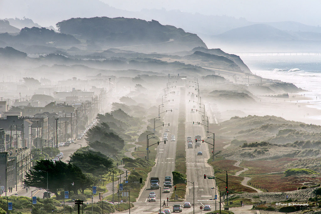 FOGUST Ocean Beach by David Yu via Flickr | Far & Wise