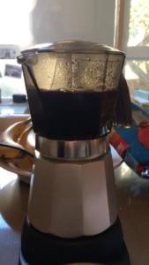 Buzzing Around the House on Espresso